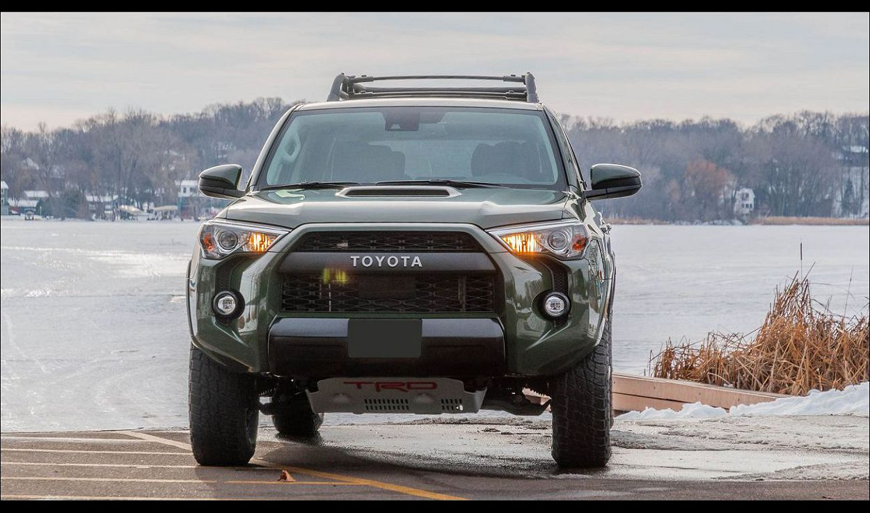 2021 Toyota 4runner Special Edition Accessories Army Green